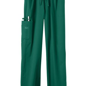 Green Stretch unisex scrub pants