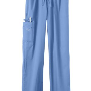 Light Blue Stretch unisex scrub pants